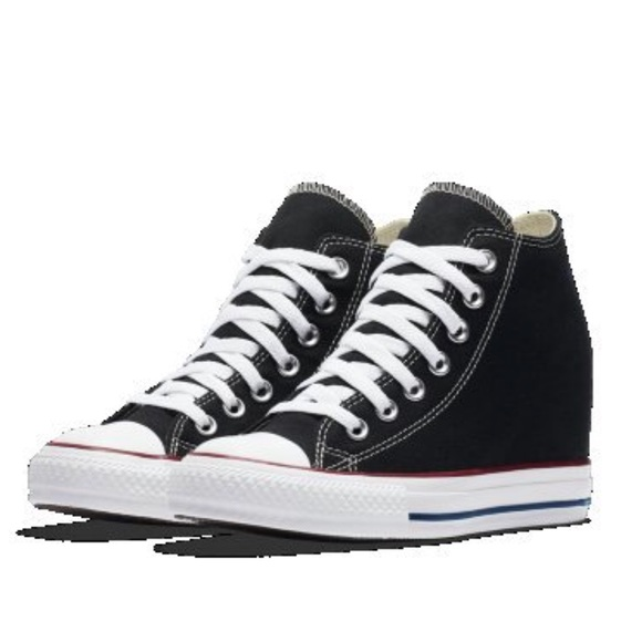 ea4de20a401252 Converse Shoes - Converse Chuck Taylor All Star lux wedge mid NWOT